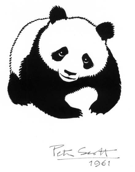 Original Logo Peter Scott WWF