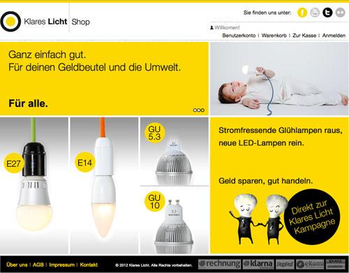 Zur Website von Klares Licht